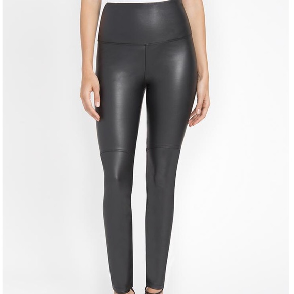 5c451577aa4212 Lysse Pants   Lyss High Waist Black Vegan Leather Leggings 0496 ...